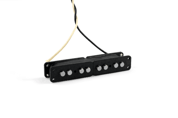 Lindy Fralin Split Jazz Bass Neck Pickup - Black
