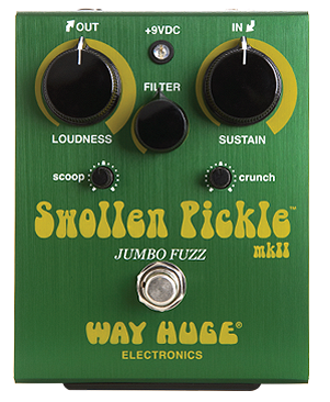 Way Huge WHE401 Swollen Pickle Jumbo Fuzz Mk II Pedal
