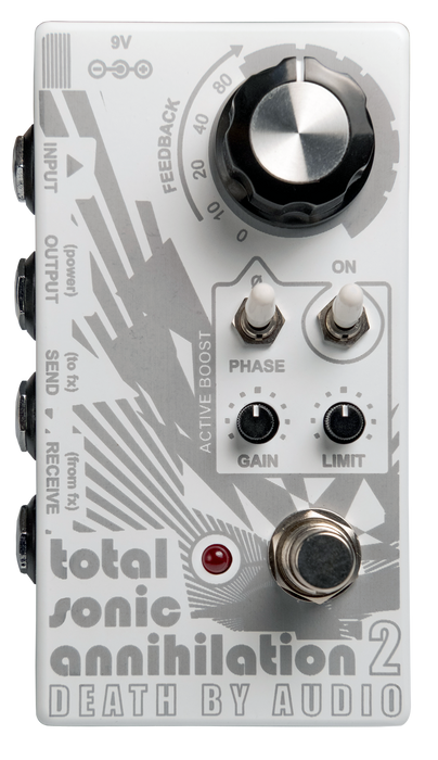Death By Audio Total Sonic Annihilation 2 Guitar Pedal