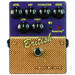 Tech 21 British Overdrive Pedal