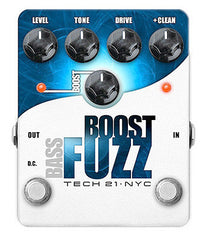 Tech 21 Boost Bass Boost Fuzz Pedal