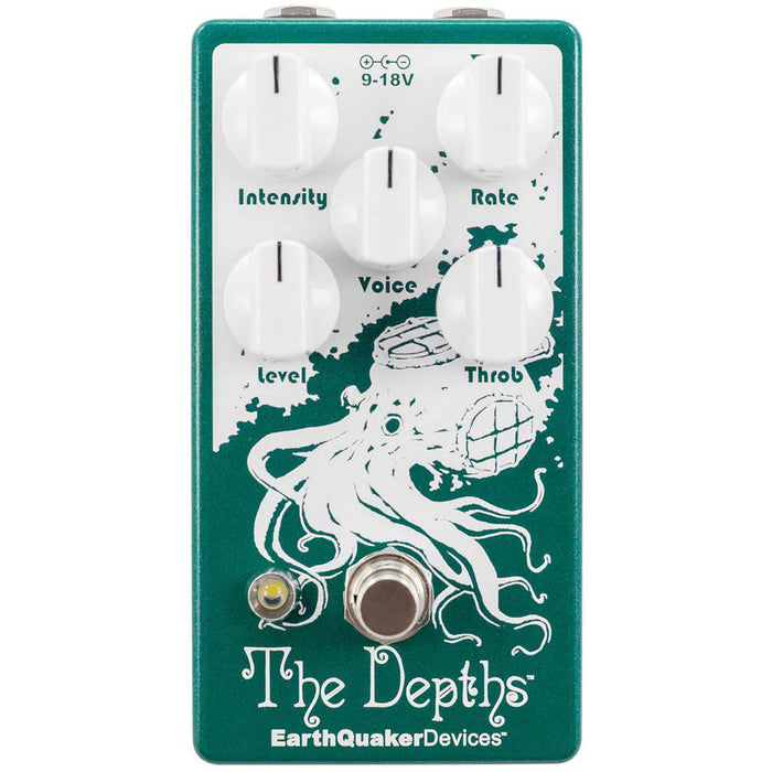 Earthquaker Devices The Depths Vibrato Pedal