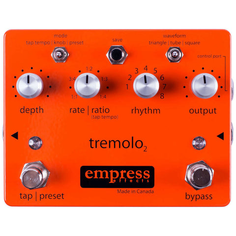Empress Effects Tremolo 2 Guitar Effect Pedal