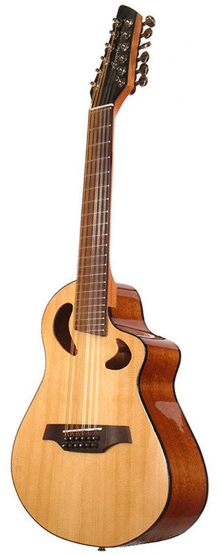 Veillette Avante Gryphon 12 String High Acoustic Electric Guitar Natural