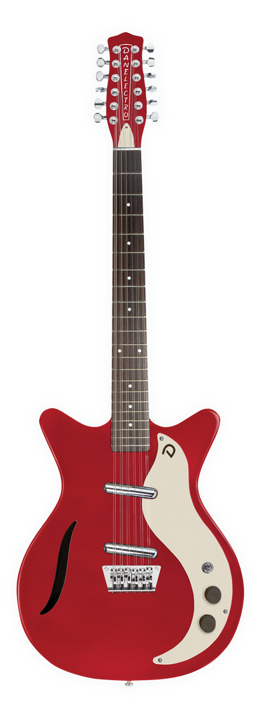 Danelectro Vintage 12 Twelve String Electric Guitar Red