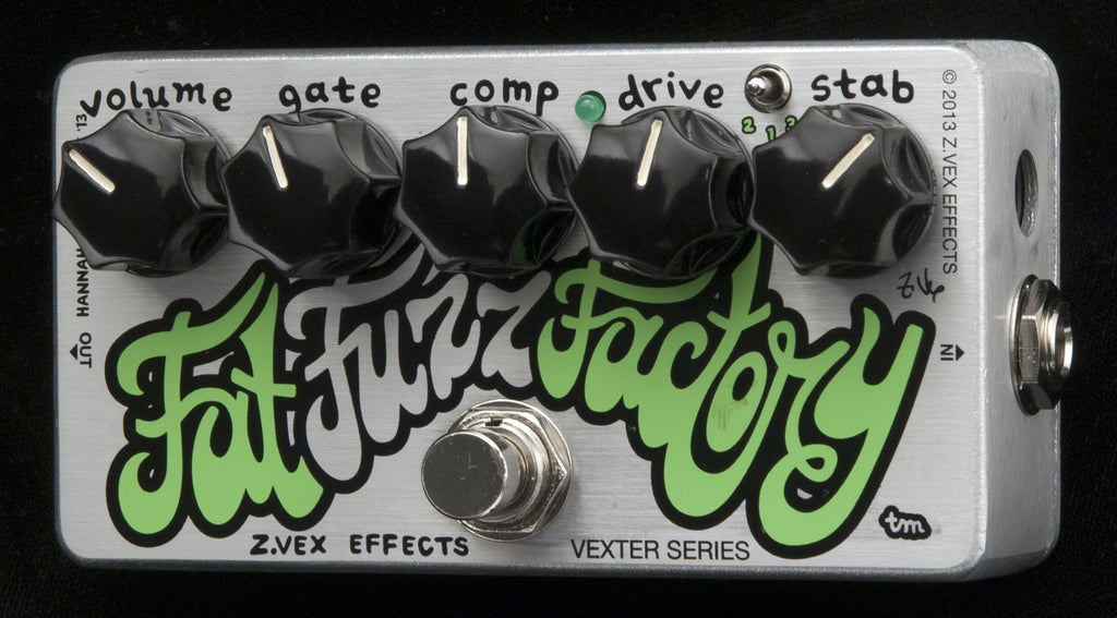Zvex Vexter Series Fat Fuzz Factory Fuzz Guitar Pedal