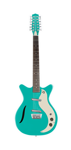 Danelectro Vintage 12 Twelve String Electric Guitar Aqua