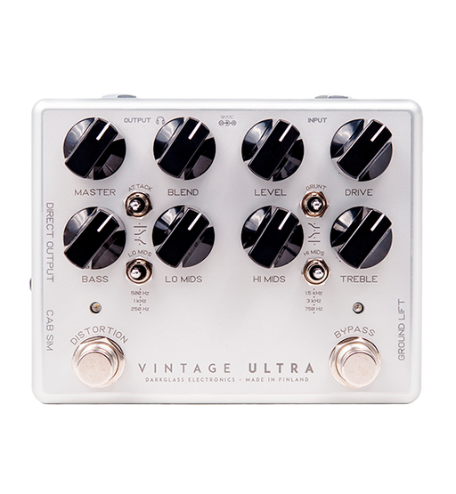 Darkglass Electronics VDU2 Vintage Ultra 2.0 Effect Pedal