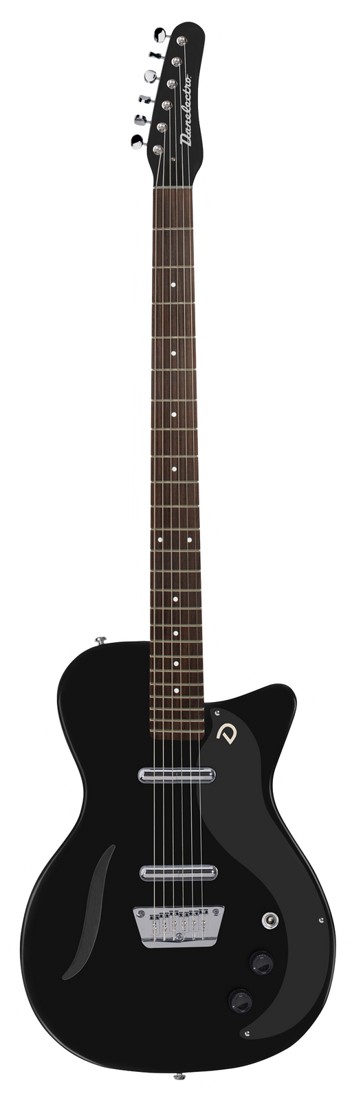 Danelectro '56 Vintage Baritone Electric Guitar Black