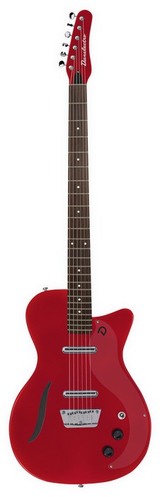Danelectro '56 Vintage Baritone Electric Guitar Red