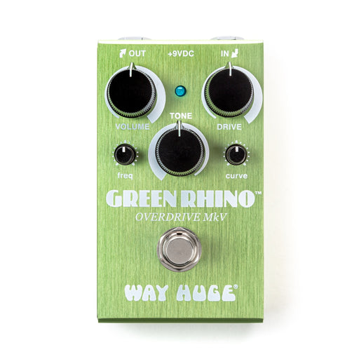 Way Huge WM22 Smalls Green Rhino Overdrive MKV Guitar Effect Pedal