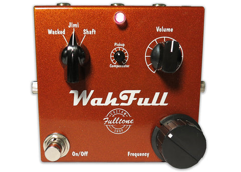 Fulltone Wah Full Fixed Wah Guitar Effect Pedal