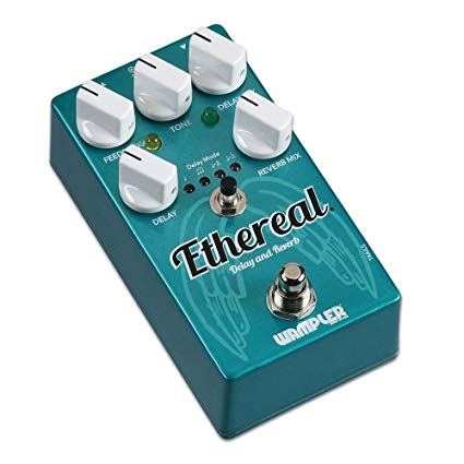 Wampler Ethereal Reverb and Delay Guitar Effect Pedal