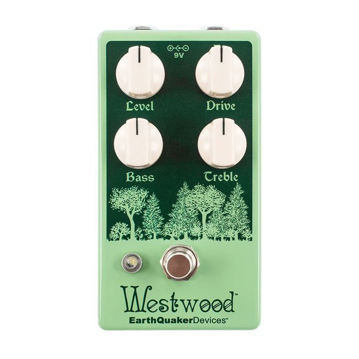 Earthquaker Devices Westwood Translucent Drive Manipulator Guitar Pedal