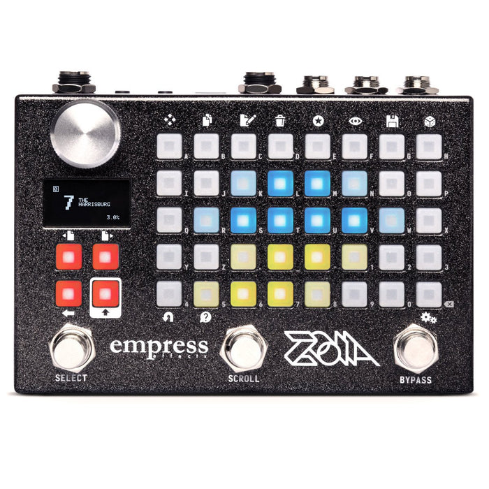 Empress Effects Zoia Modulator Synthesizer Pedal