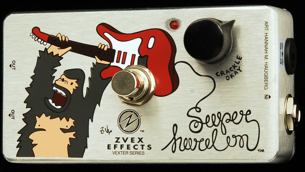 "Zvex Vexter Series Super Hard On ""SHO"" Clean Boost Guitar Pedal"