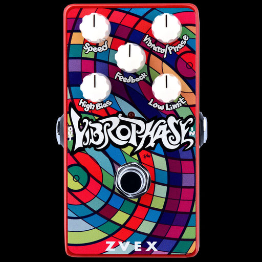 Zvex Vibrophase Vibrato Phaser Guitar Effect Pedal