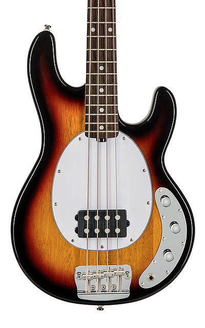 Sterling By Music Man Stingray Classic Three Tone Sunburst Bass Guitar RAY24CA-3TS-R1