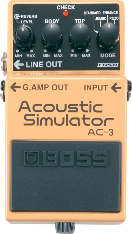 Boss AC-3 Acoustic Simulator Guitar Pedal
