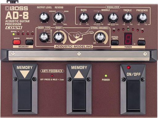 Boss AD-8 Acoustic Guitar Processor Guitar Pedal