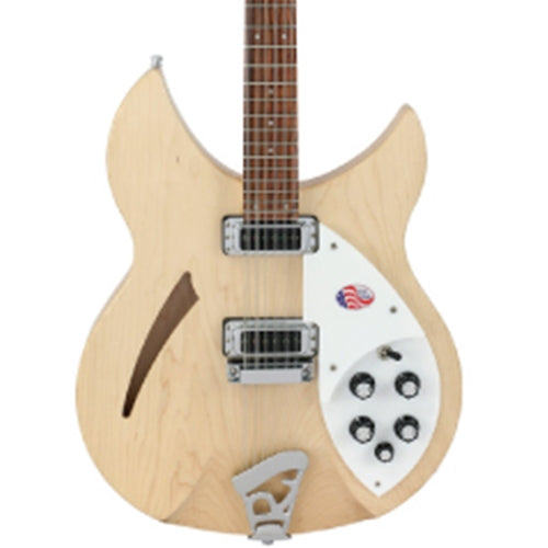 Rickenbacker 330/12 Mapleglo Semi Hollow Guitar With OHSC