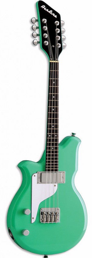 Eastwood Airline Mandola Map Seafoam Green Left Handed