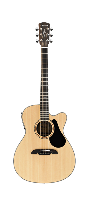 Alvarez AF-60CE Cutaway OM/Folk Size Steel String Acoustic/Electric Guitar