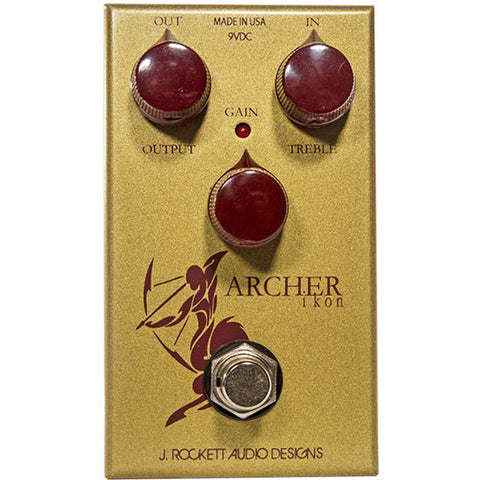 J Rockett Audio Designs Tour Series Archer Ikon Overdrive/Boost Guitar Effect Pedal