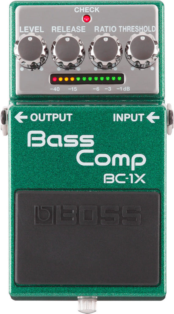 Boss BC-1X Bass Compressor Bass Guitar Pedal