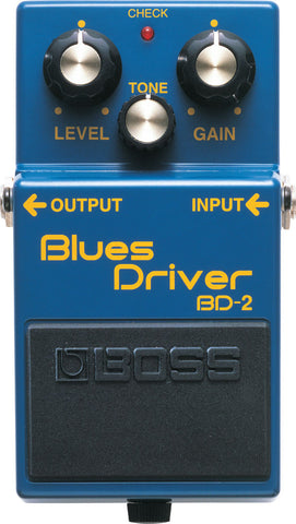 Boss BD-2 Blues Driver Overdrive Guitar Pedal