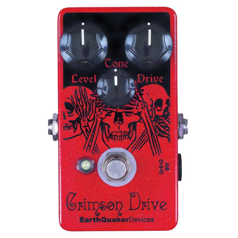 Earthquaker Devices Crimson Drive Germanium Overdrive Pedal