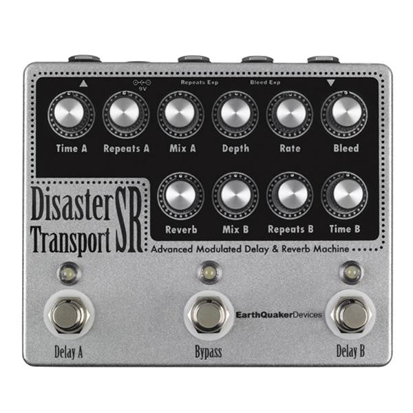 Earthquaker Devices Disaster Transport Sr. Delay and Reverb Pedal