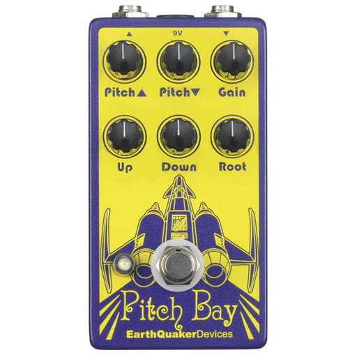 Earthquaker Devices Pitch Bay Three Part Polyphonic Harmonizer And Distortion Generator Pedal