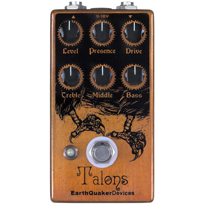 Earthquaker Devices Talons High Gain Overdrive Pedal