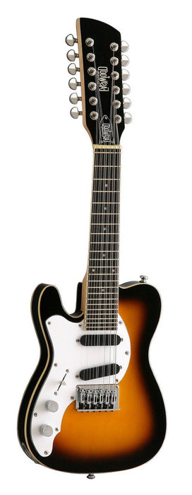 Eastwood Mandocaster 12 - Antique Sunburst Left Handed