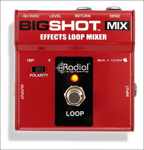 Radial Engineering BigShot Mix Wet Dry Effects Loop