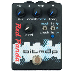Red Panda Bitmap Guitar Effect Pedal