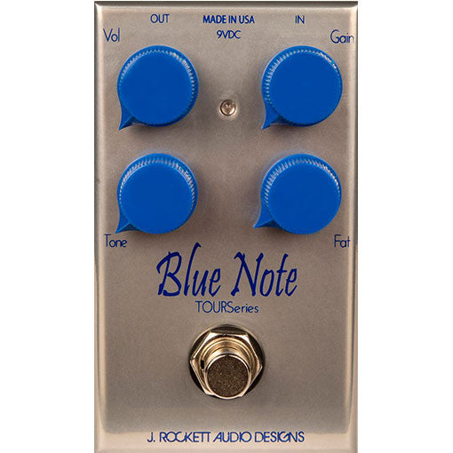 J Rockett Audio Designs Tour Series Blue Note Overdrive Guitar Effect Pedal