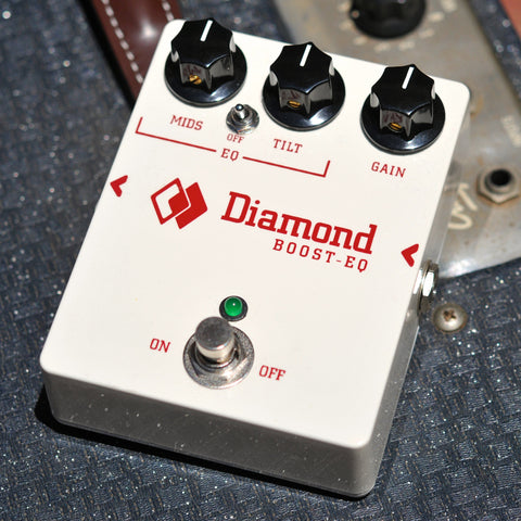 Diamond Pedals Boost EQ BEQ1 Guitar Effect Pedal