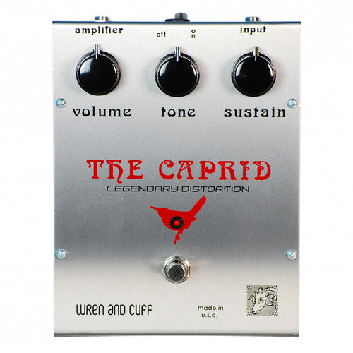 Wren and Cuff The Caprid Distortion Guitar Effect Pedal