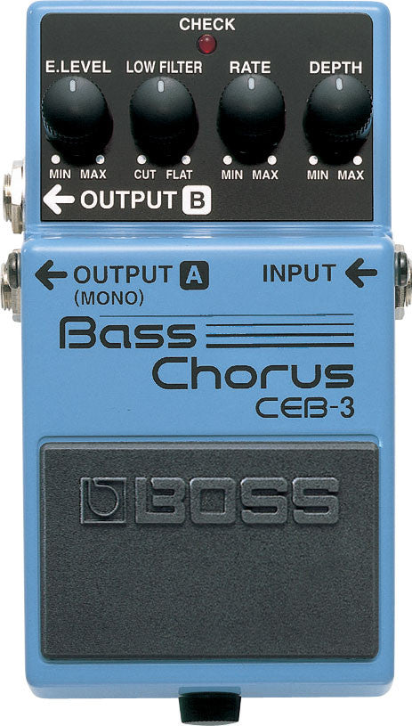 Boss CEB-3 Bass Chorus Guitar Effect Pedal