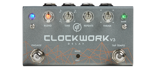 GFI System Clockwork V3 Delay Guitar Effect Pedal