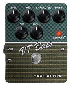 Tech 21 VT Bass Overdrive Pedal