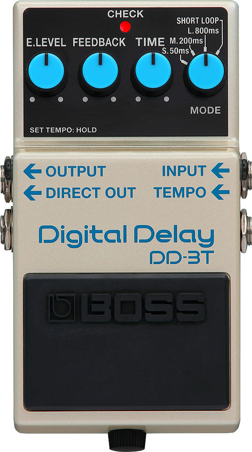 Boss DD-3T Digital Delay with Tap Tempo Guitar Effect Pedal
