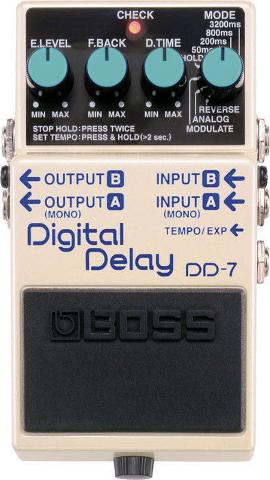 Boss DD-7 Digital Delay Guitar Effect Pedal