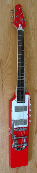 Eastwood La Baye 2x4 DEVO Left Handed Signature Model - Red