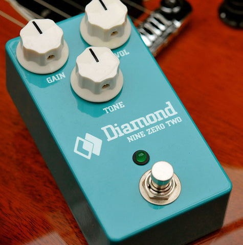 Diamond Pedals Nine Zero 2 Overdrive Distortion Guitar Effect Pedal