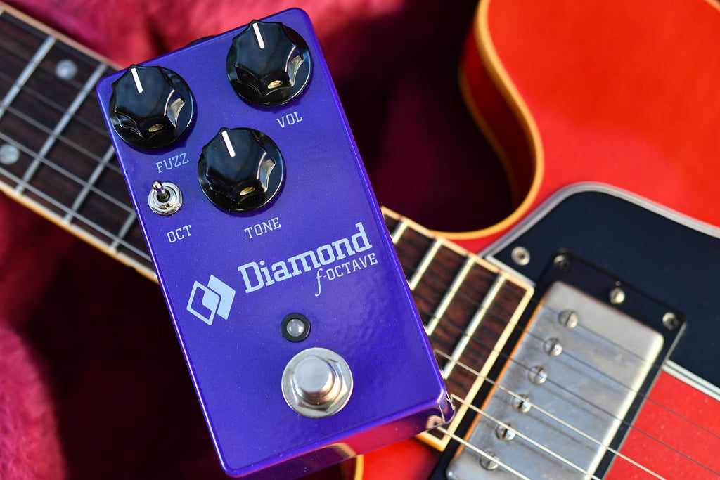 Diamond Pedals F-Octave Guitar Effect Pedal