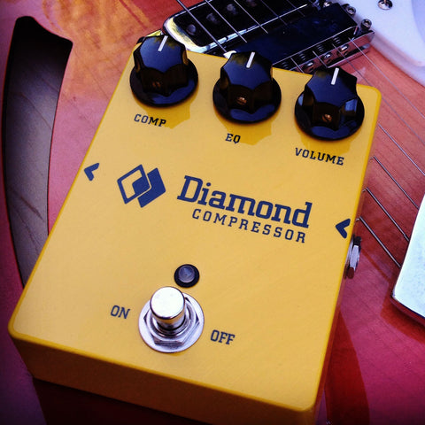 Diamond Pedals Compressor CPR1 Guitar Effect Pedal