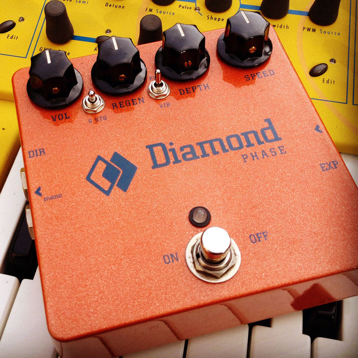 Diamond Pedals Phase PSH1 Phaser Guitar Effect Pedal